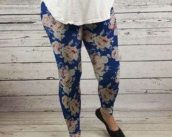 cf4fd0378a7d Floral leggings
