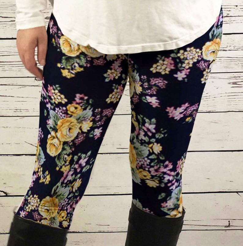18fec1364e0 Rose Leggings rose clothing women plus size leggings womens
