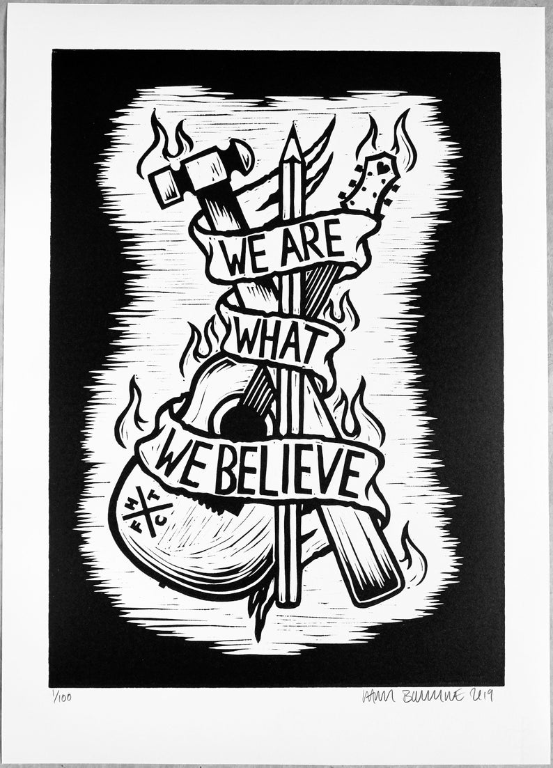 frank turner poetry of the deed album artwork for sale