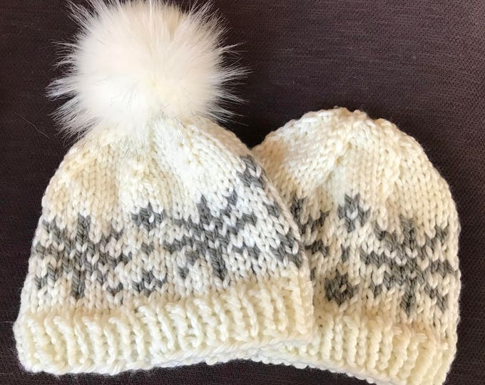 Snowflake Hat -- PATTERN ONLY