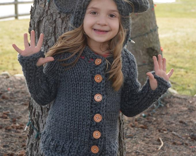 IN STOCK - Bladyn Bear Sweater Size 3/4T