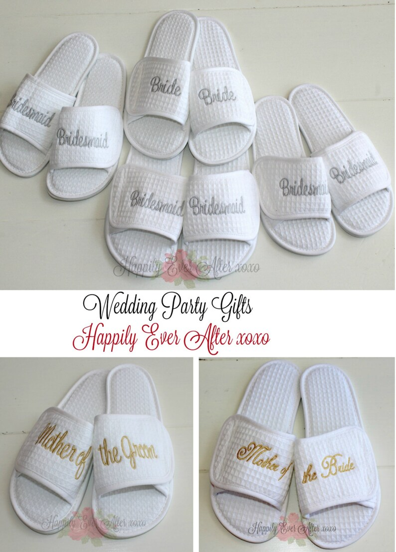 f2a218e51a3b0 Wedding Slippers Bride Mother of the Groom Mother of the