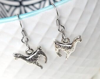Llama Earrings Charm Stainless Steel Hypoallergenic Jewelry