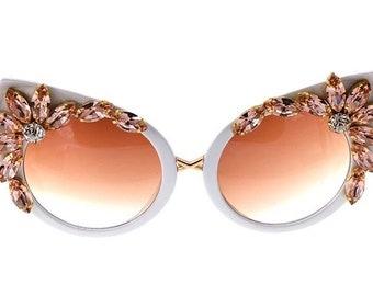 cc1c0680a6d9 Bling Cat Eye Sunglasses