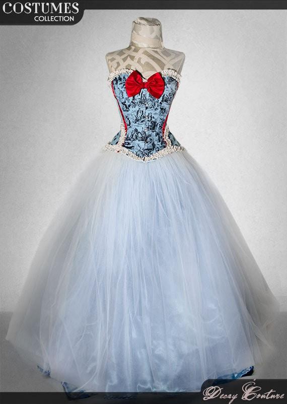 Alice in Wonderland Wedding Dresses