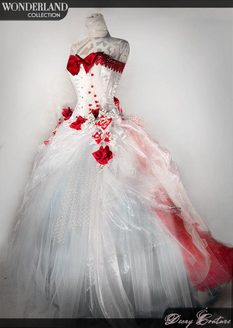 c747b62553b White Wedding Gown White Wedding Dress Victorian Corset