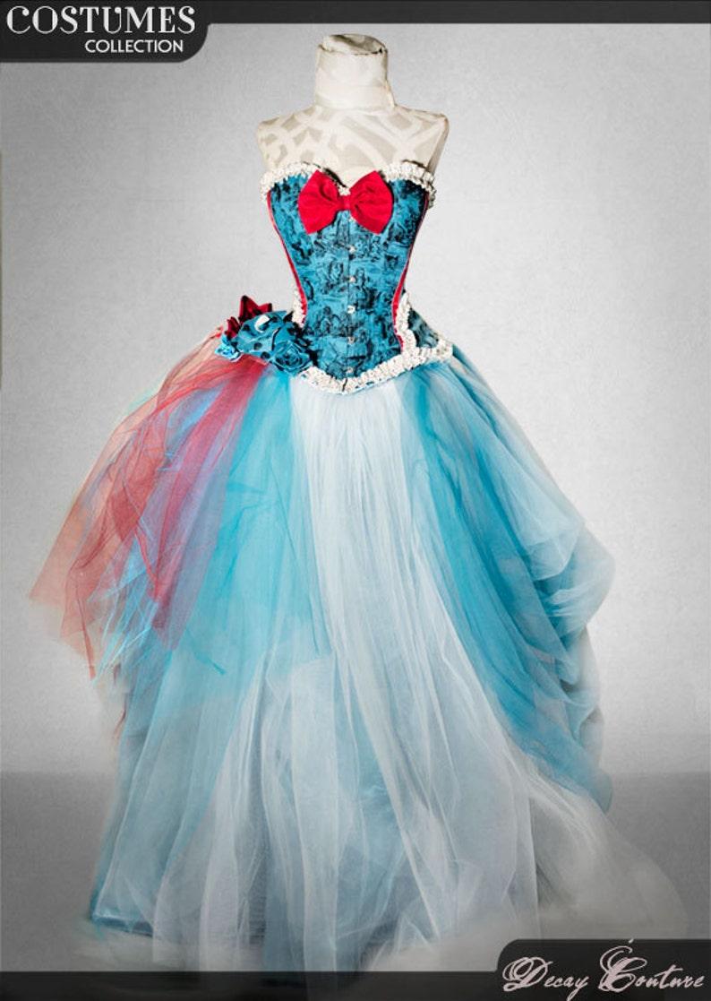 41a1f006154 ALICE IN WONDERLAND wedding gown wedding dress bridal