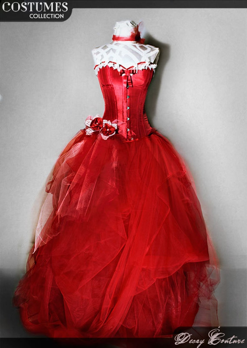 Vintage Red Wedding Dresses