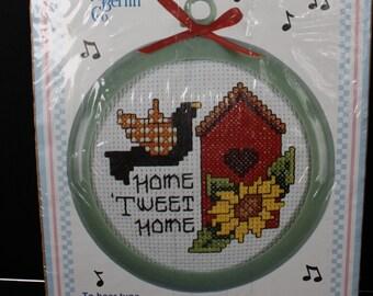 TWO Christmas Cross Stitch Kits Mill Hill Rocking Horse /& New Berlin Co Jingle Toes Teddy Bear