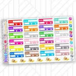Order Tracker Sticker fits Happy Planner and Life Planner | Online Shopping Sticker for Happy Mail Sticker for Functional Planning