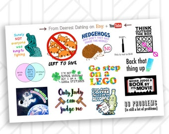 Stickers - QUOTES