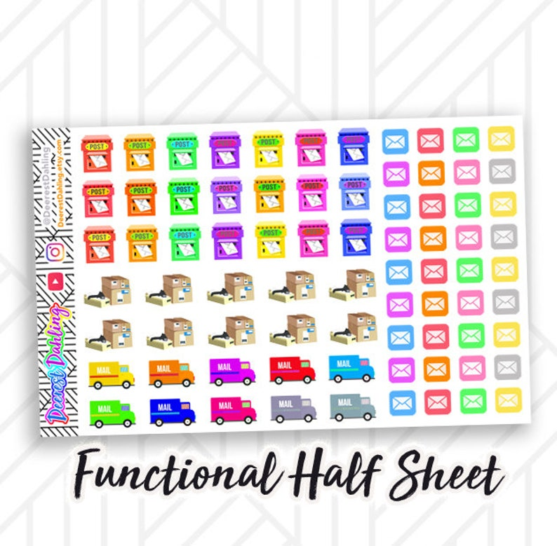 Direct Sale and Home Business Sticker Set for Happy Planner image 0