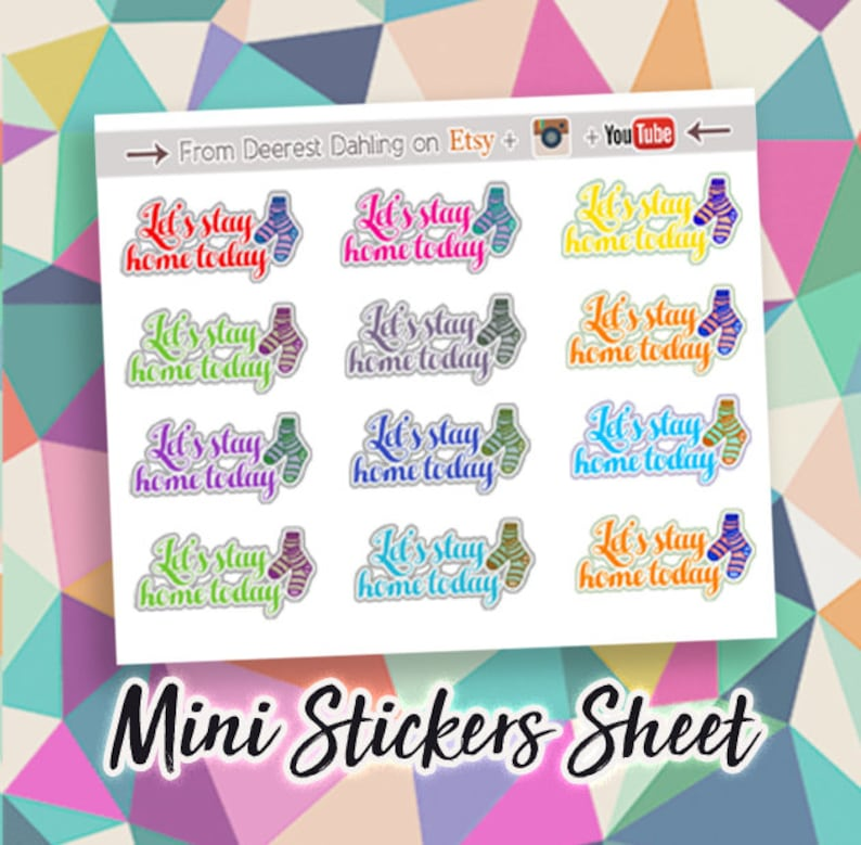 Fall Winter Stickers for Happy Planner and Life Planner  image 0