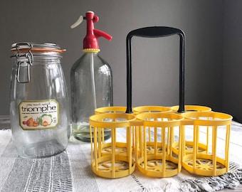 Plastic Coated Crate Beer Bottle Carrier 6 Pint Milk Holder