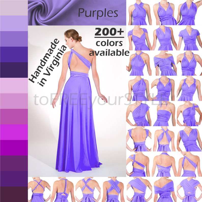 8466a2c57a2 Infinity Dress FULL style bridesmaid dress convertible