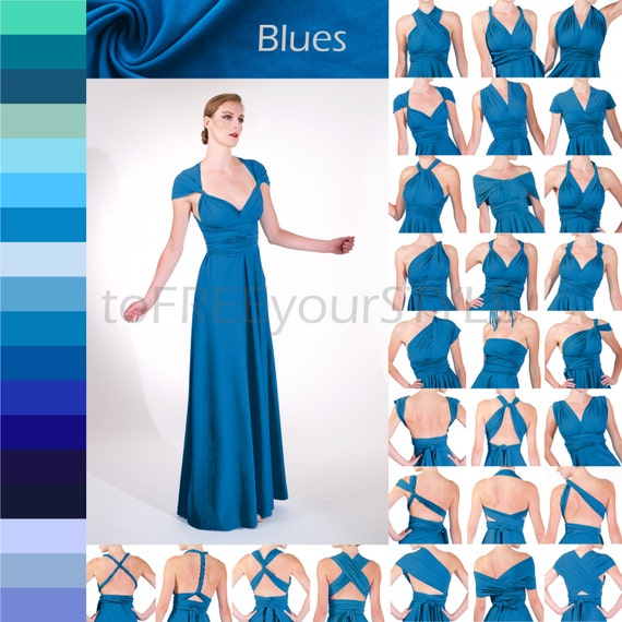 Convertible Dress A-LINE skirt infinity bridesmaid dresses  77d6f9c40ccd