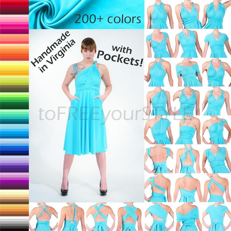 90a79d2de7 POCKETS Long / Tall FULL Skirt Infinity Dress Maxi Dress   Etsy