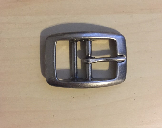 "Lot of  1"" Antique Brushed Nickel Buckle for Belts Collars qty 189"