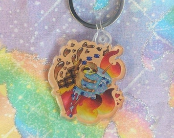 S'loth S'more Sloth Keychain