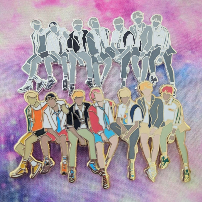 BTS Love Yourself Pin image 0