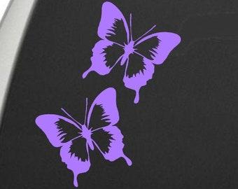 Sticker Butterfly vinyl car Decal