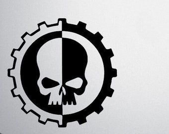 40k Adeptus Mechanicus Decal, Adeptus Mechanicus Decal, Adeptus Mechanicus Sticker, Adeptus Terra, Cult Mechanicus, Cult of the Machine