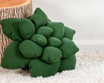 Forest Green Decorative Pillow, Woodland Decoration, Woodland Room Decor, Woodland nursery decor