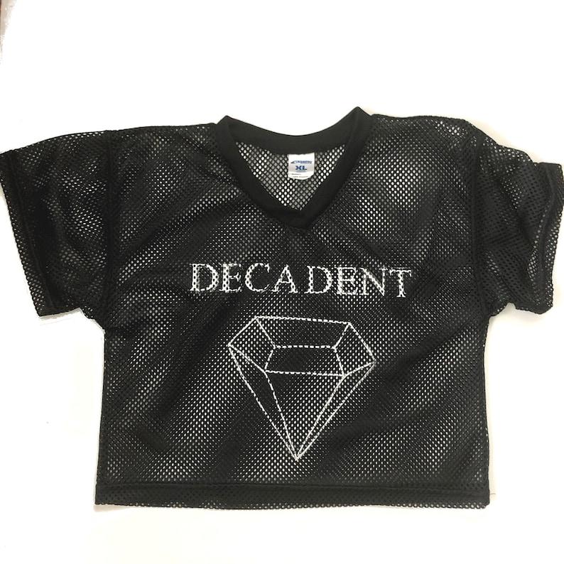 Decadent Mesh Diamond Jersey