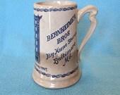 Stoneware Advertising Piece - Baltimore Pottery Mug - Early