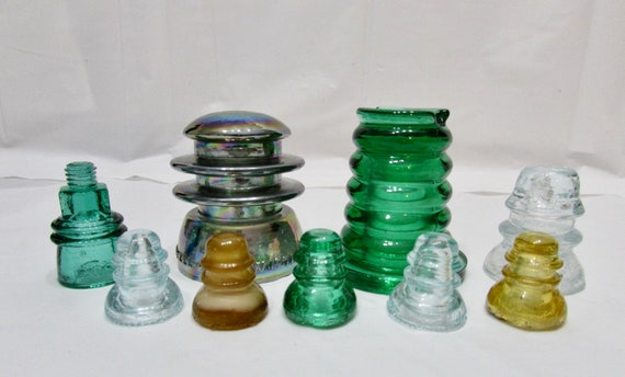 Commemorative Insulators -  mini size - Odd Colors