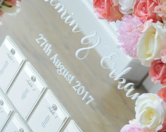 Simple Ivory Table Plan - To Fit A3 Frame Self Assemble