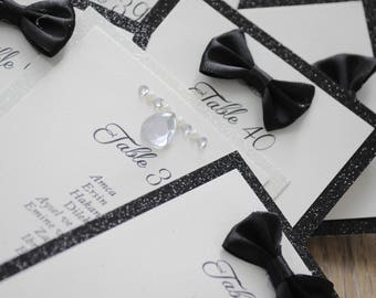 Bride & Groom Table Plan - To Fit A3 Frame Self Assemble