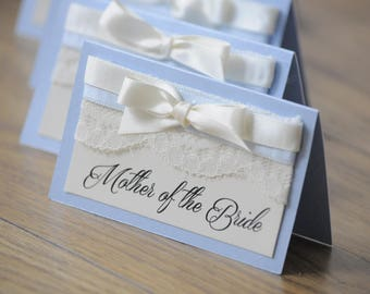 Lace and Bow Place Setting