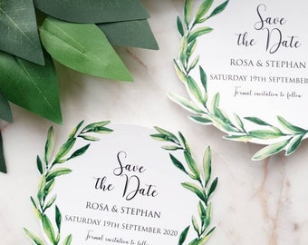 Olive Branch Save the Dates