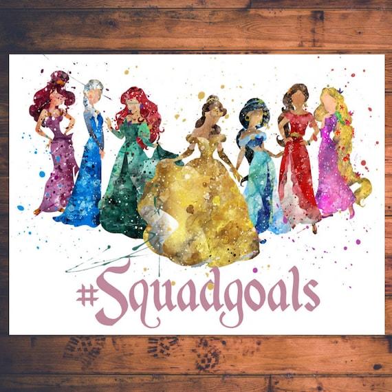 Headwrap Tee Bummies Princess Squad Goals Bummies Set