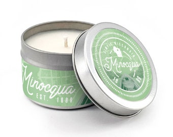 Minocqua Soy Candle, Minocqua Candle, Wisconsin Candle, Simply Wisconsin Candle, Northwoods Candle, Northwoods, Up North, Woods Scent,
