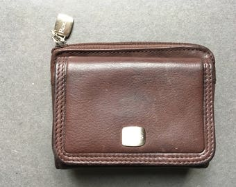 Vintage ROLFS Genuine Leather Brown Wallet