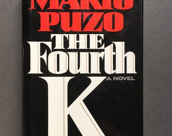 Vintage The Fourth K by Mario Puzo (1990, Hardcover), 1st