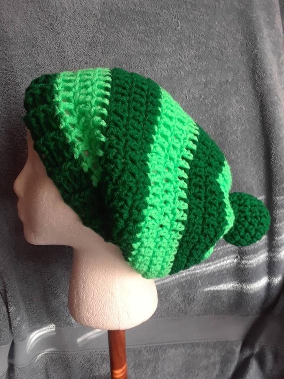 Tuque pour bébé au Crochet vert Noël au Crochet La Tuque   Etsy a3f650067f1