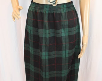 1e9dd65ad8653 Plaid Cathy daniels comfy 80s skirt