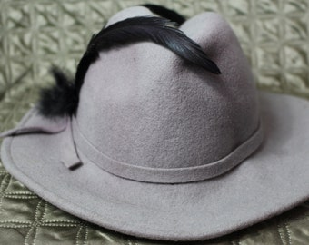 Grey wool Lancaster hat 104ca1857
