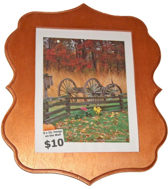 picture frame 8x10 scroll saw frame wooden frame wall etsy