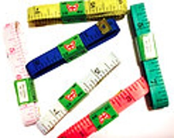 """body Tape Measure, tailor, sewing 60 inches ,1/2"""" Wide - Soft, sewing"""
