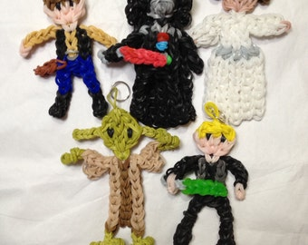 Star Wars ornaments,  Darth Vader, Yoda, Luke Skywalker, Han Solo, Princess Leia, C3PO, R2D2, BB8, Stockings, Party Favors, Gifts,