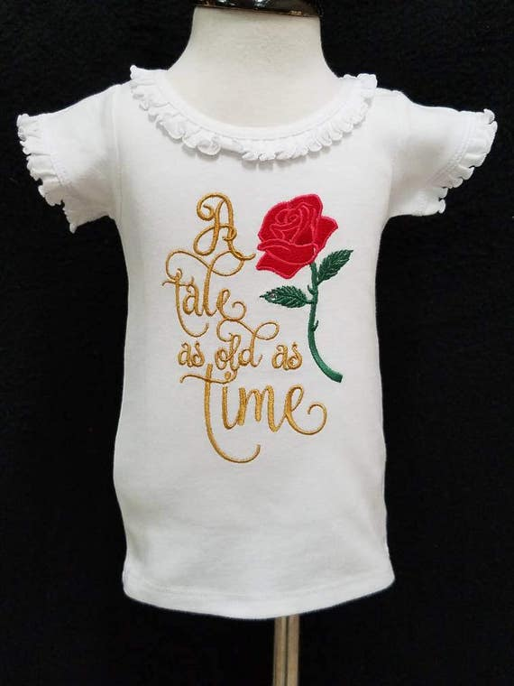 Belle Birthday Shirt Beauty And The Beast
