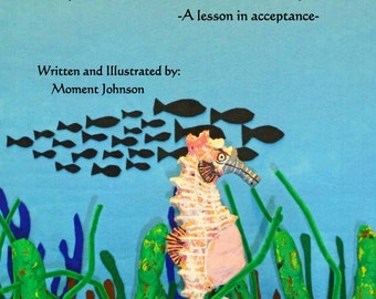 Spike Becomes a Daddy, self published children's book, book about seahorses, book about bullying, book in support of lgbtq community