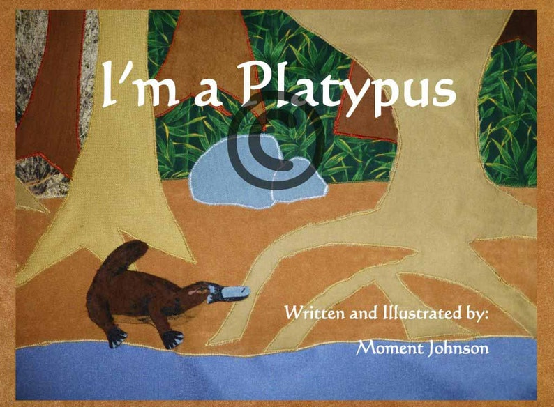 I'm a Platypus self published children's book book image 0