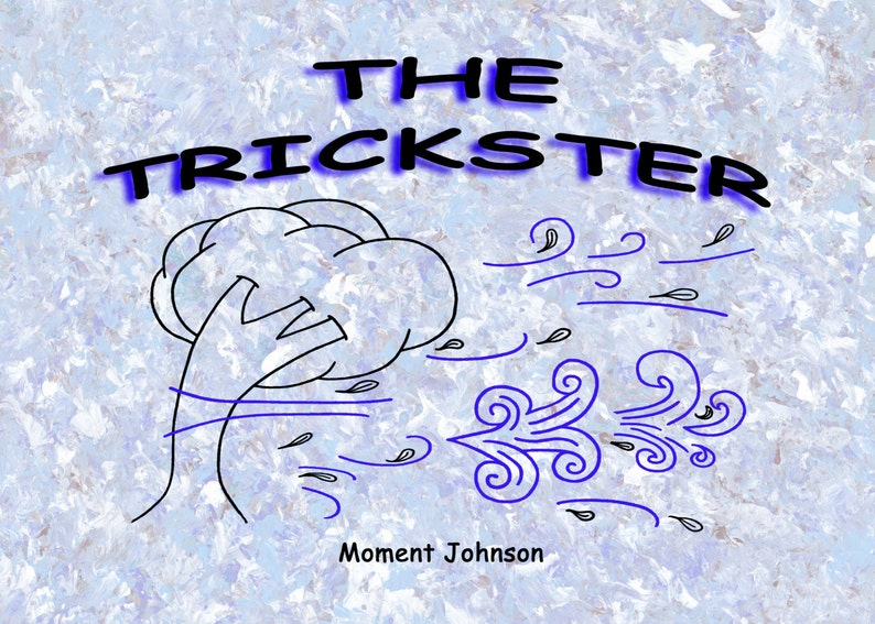 The Trickster Children's book picture book coloring image 0