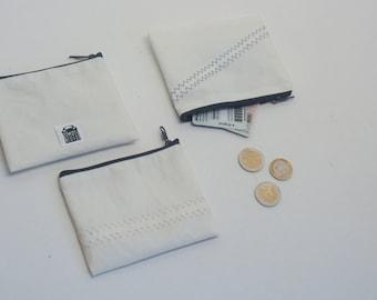 Mini bag made of sail
