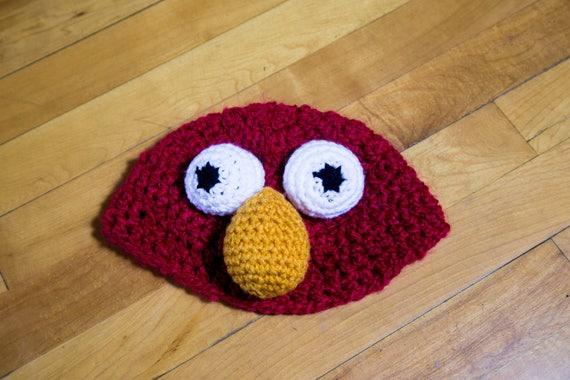 Elmo Muppet Beanie Pattern Etsy
